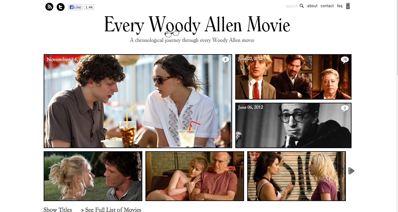 Every Woody Allen Movie